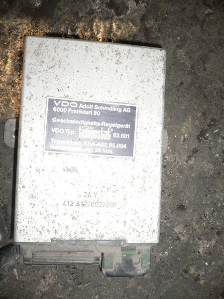 centralina VOLVO VDO 412.412/002/001 per autobus VOLVO