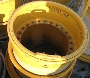 cerchi in lega VOLVO 25x22x3 wheel rim for tyres 26.5R25 per pala gommata VOLVO L150, L150C, L150D, L150E, L150F, L180, L180C, L180D, L180E, L18