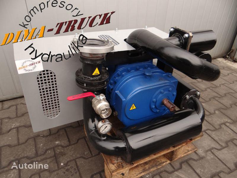 compressore aria kompresor paszowy paszowóz gardner denver per camion animal feed compressor nuovo