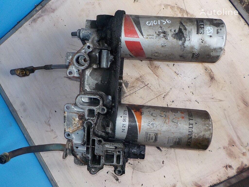 corpo del filtro dell'olio Renault per camion