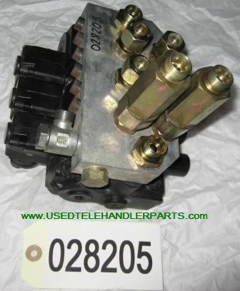 distributore idraulico MERLO per pala gommata MERLO