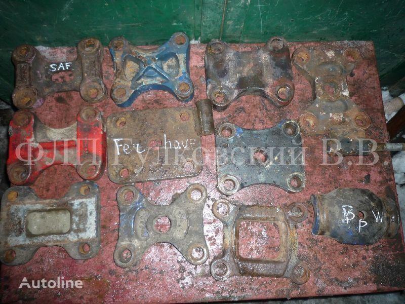 elementi di fissaggio - kronshteyny, bolty, shpilki, gayki i pr. b/u per semirimorchio