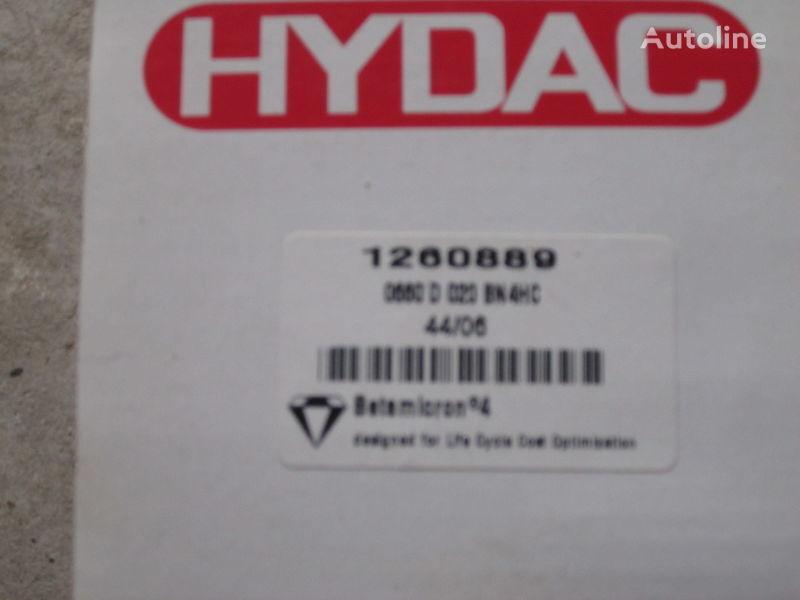 filtro idraulico Hydac 1260889 Nimechchina per escavatore nuovo