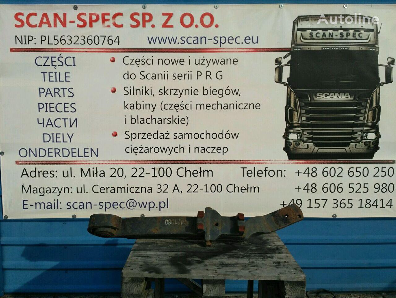 molla a balestra SCANIA 1421060 Lewa strona RH per trattore stradale SCANIA SERIE 4 / R