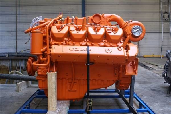motore SCANIA DI14 per altre macchine edili SCANIA DI14