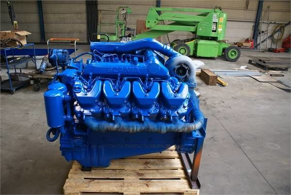 motore SCANIA DSC 14 01 per altre macchine edili SCANIA DSC 14 01