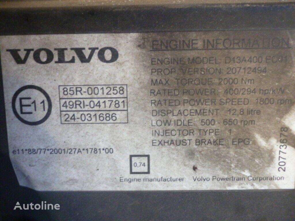 motore VOLVO D13A400 EC01 per camion VOLVO
