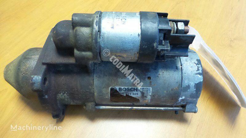 motorino d'avviamento CASE per escavatore CASE WX150
