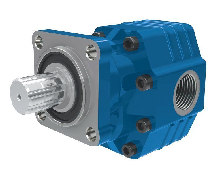 pompa idraulica BINNOTTO Italiya ISO 82 l na 4 bolta.Gidravlika dlya samosvala per trattore stradale nuova