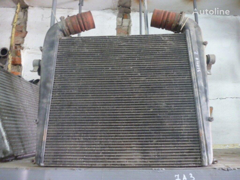 radiatore di raffreddamento motore Interkuler (672x650x52) Scania per camion