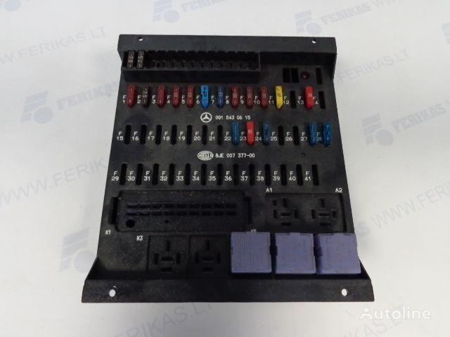 scatola dei fusibili MERCEDES-BENZ protection fuse box 0015430615,0015433115,8JE007377-01,8JE007377 per trattore stradale MERCEDES-BENZ