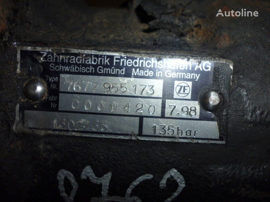 servosterzo idraulico Nasos GUR Scania per camion