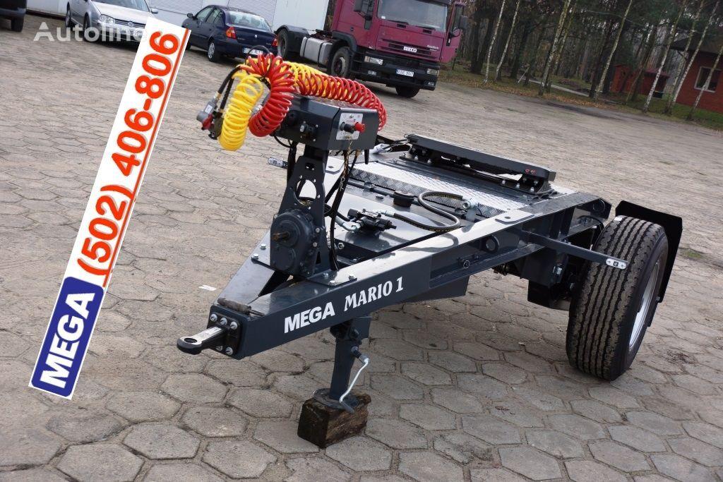 rimorchio dolly MEGA 1 Achse Dolly fur Kipper / Hydraulik Pumpe / FERTIG nuovo