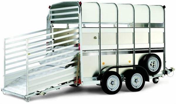 rimorchio trasporto bestiame WILLIAMS TA510
