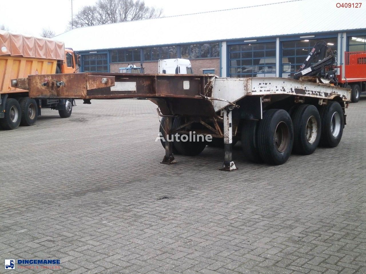 semirimorchio portacontainer TRAYL-ONA 3-axle dolly trailer / 62000 kg