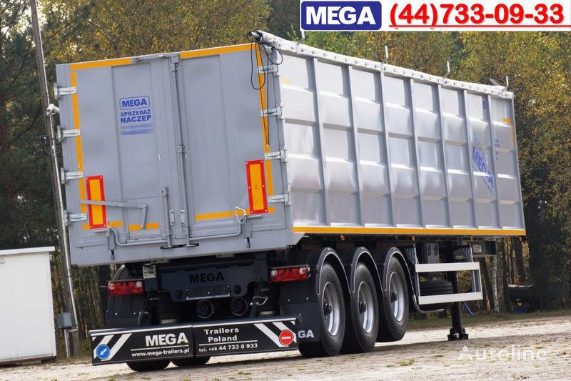 semirimorchio ribaltabile MEGA 50 M³ TIPPER FOR SCRAP & IRON DOMEX 650 !READY ! nuovo