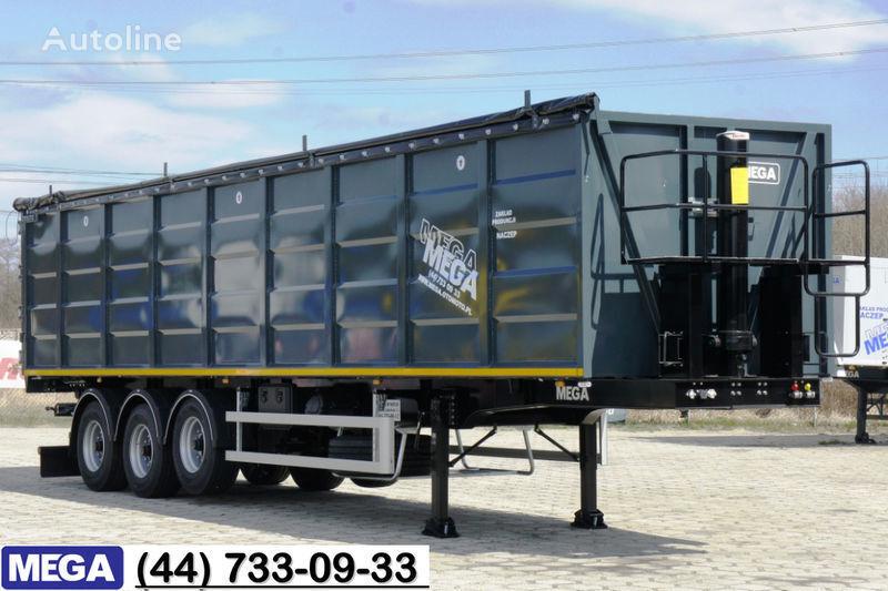 semirimorchio ribaltabile MEGA 55 M³ DOMEX/OPTIM 650 STEEL TIPPER / HATCH-DOOR & GRAINHOLES !! nuovo