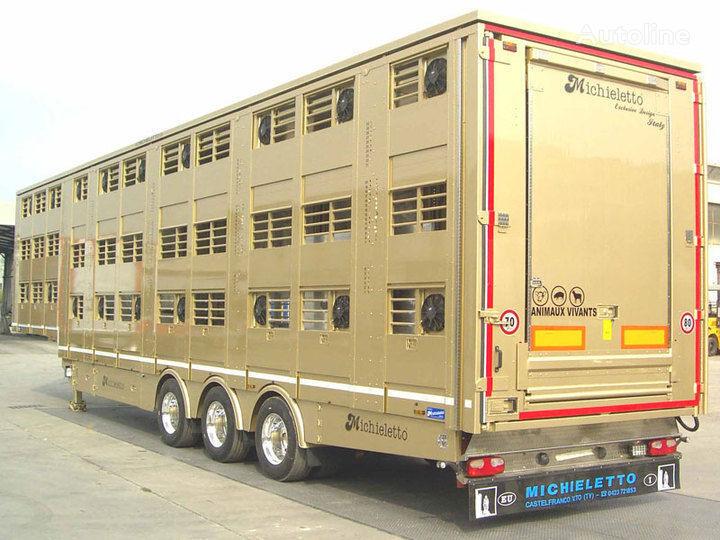 semirimorchio trasporto bestiame MICHIELETTO nuovo