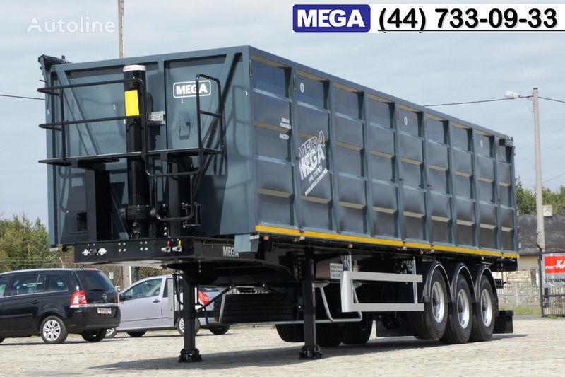 semirimorchio trasporto cereali MEGA 11,4 m / V = 55 m³ ctalovyy kuzov klapan-dverey / Luk dla zerna! nuovo