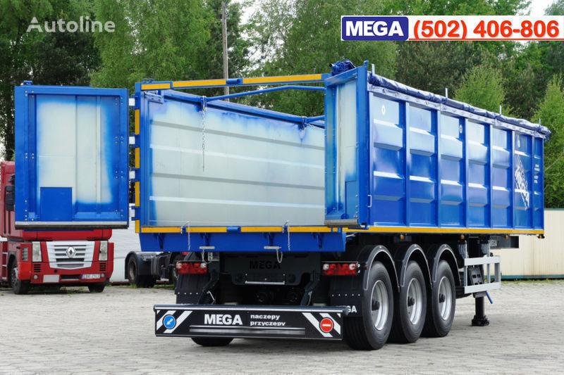 semirimorchio trasporto cereali MEGA 38/10200 KD pama k tyagachu 6x4 nuovo
