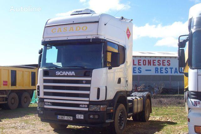 trattore stradale SCANIA L420