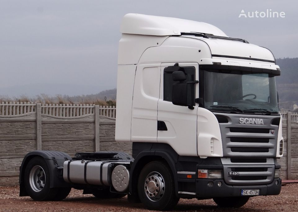 trattore stradale SCANIA R 420 / HIGHLINE / / OPTICRUISE + SPRZĘGŁO /